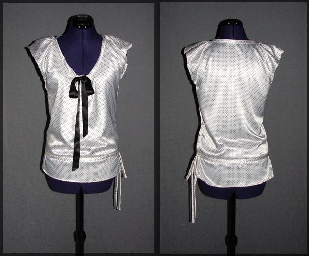 top t shirt haut blanc poids classe fashion femme. Black Bedroom Furniture Sets. Home Design Ideas